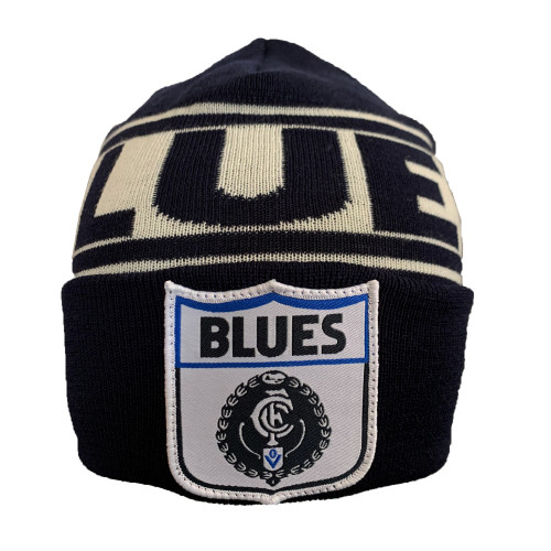 Carlton Fibre of Football Flashback Beanie
