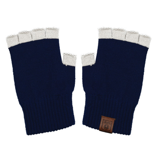 Carlton Fibre of Football Fingerless Gloves