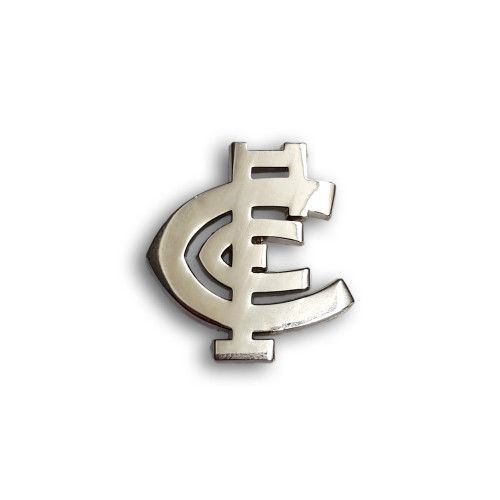 Carlton Monogram Cut Out Pin