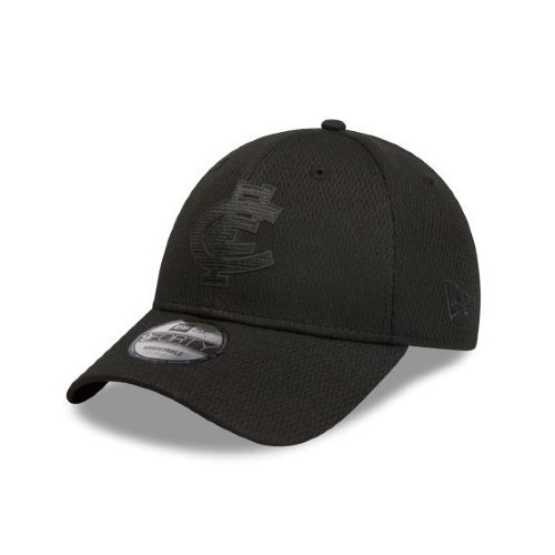 Carlton New Era Black on Black 9FORTY