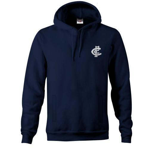 Carlton Mens Big Logo LS Hood
