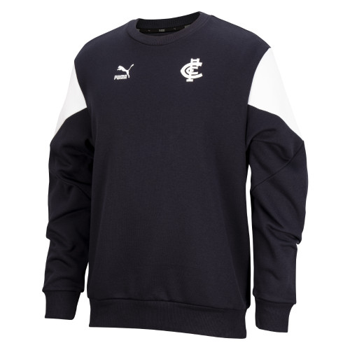 Carlton 2021 PUMA Iconic Crew - Adults