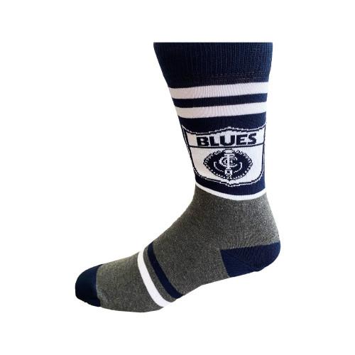 Carlton Retro Shield Socks - Large