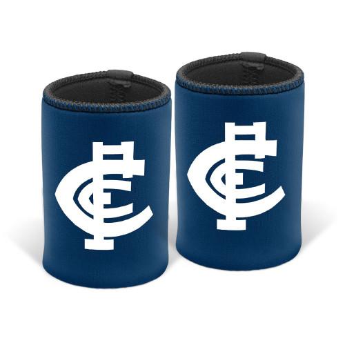 Carlton Monogram Can Cooler