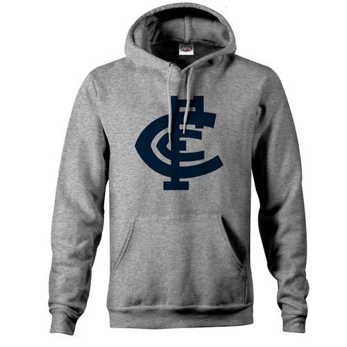 Carlton Basics Mens Hood - Grey