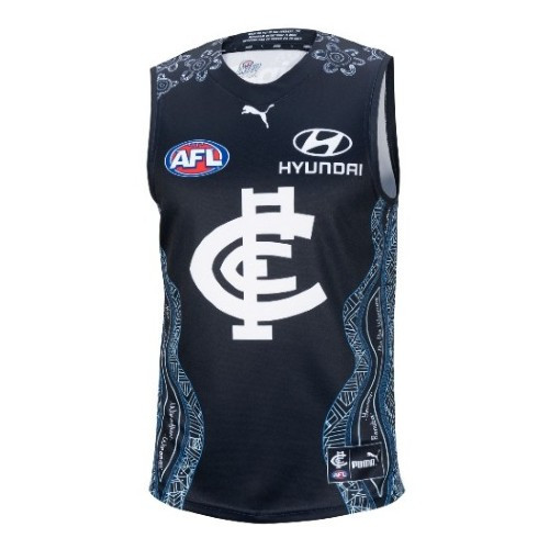 Carlton 2021 Replica Indigenous Guernsey - Youth