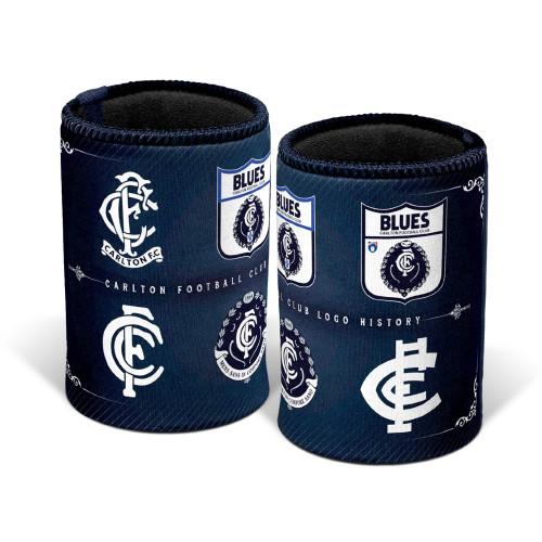 Carlton History Logo Can Cooler