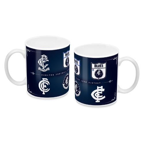 Carlton History Logo Mug