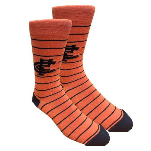 Carlton Respects Stripe Socks - Small