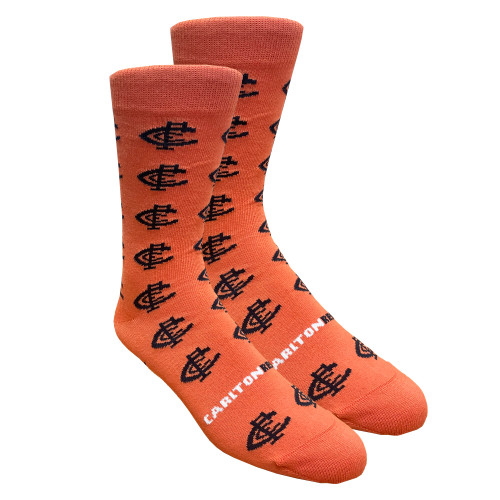 Carlton Respects Pattern Socks - Small