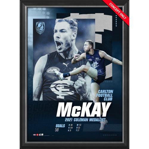 Harry McKay Coleman Medal SportsPrint