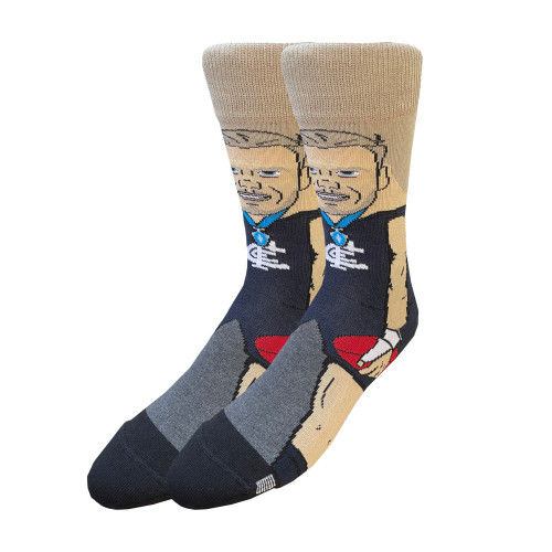 Carlton Harry McKay Nerd Socks - Large