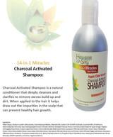 Hawaiian Silky Apple Cider Vinegar Charcoal Activated Shampoo (Clarifying)