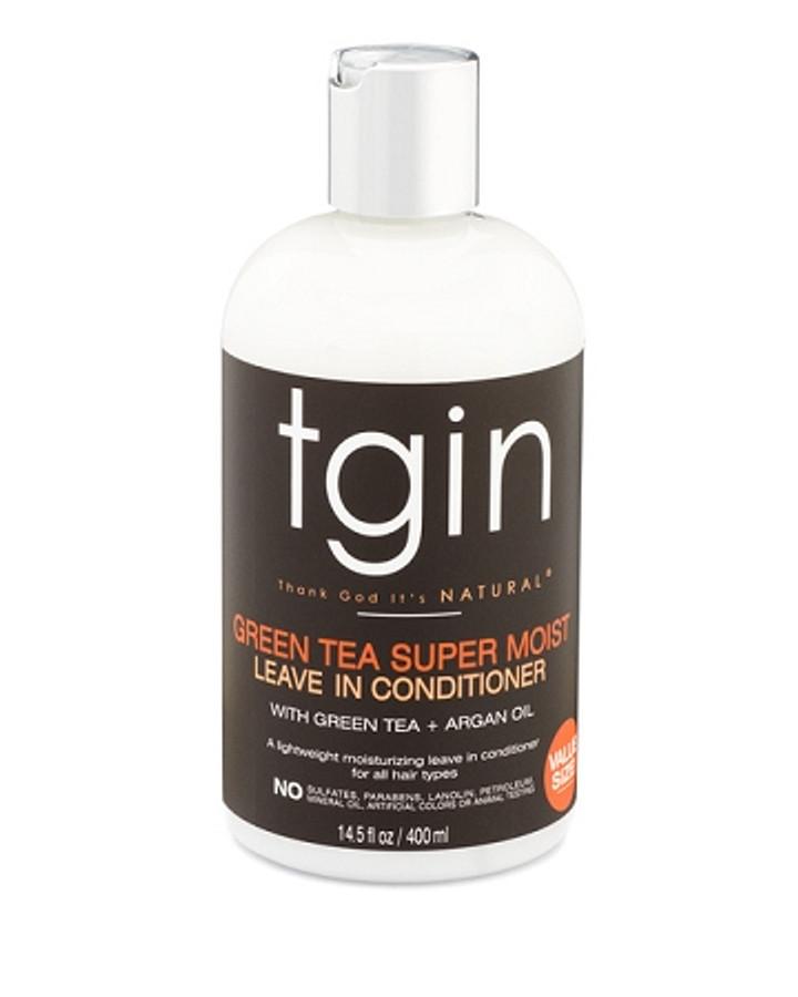 tgin Green Tea Super Moist Leave in Conditioner - 14.5 oz