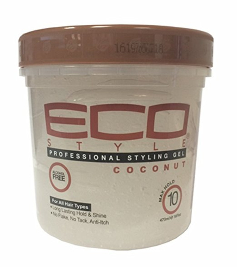 Eco Styler Professional Styling Gel Coconut Oil Max Hold - 16 oz