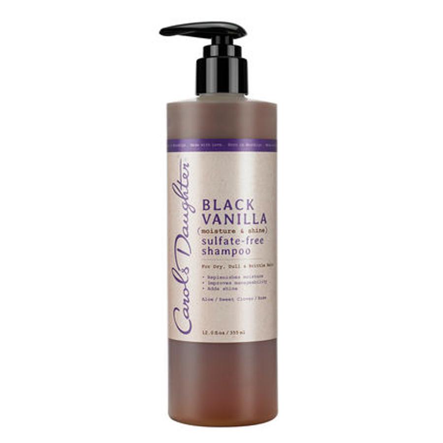 Carol's Daughter Black Vanilla Moisture & Shine Sulfate-Free Shampoo 12 oz
