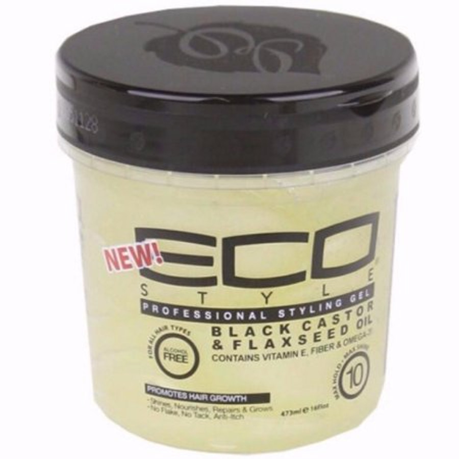 ECO Styler Black Castor & Flaxseed Max Hold - 16 oz