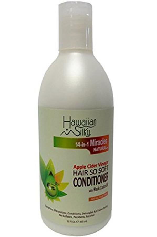 Hawaiian Silky Apple Cider Vinegar Hair So Soft Conditioner 12 oz