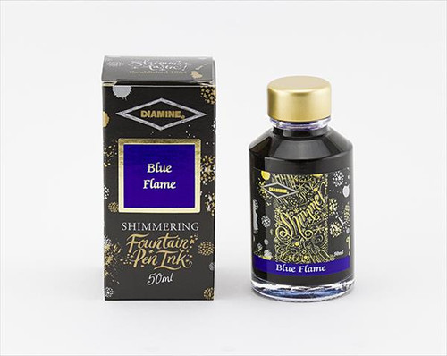 Diamine Shimmering Blue Flame