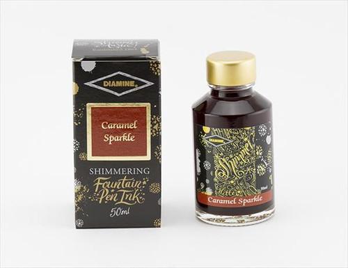 Diamine Shimmering Caramel Sparkle
