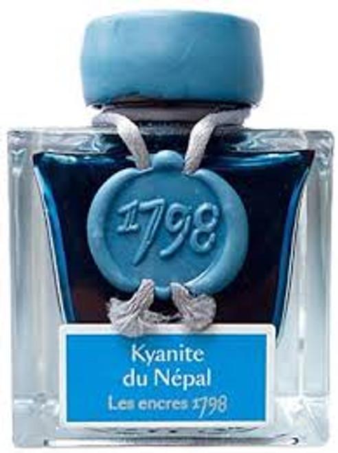 "J. Herbin ""1798"" Anniversary Inks Kyanite du Nepal"
