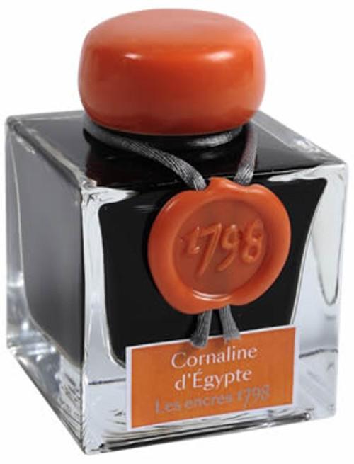 "J. Herbin ""1798"" Anniversary Inks Cornaline d'Egypte"