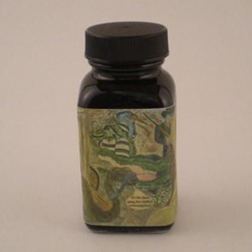 Noodler's Warden's Ink Series Bad Black Moccasin
