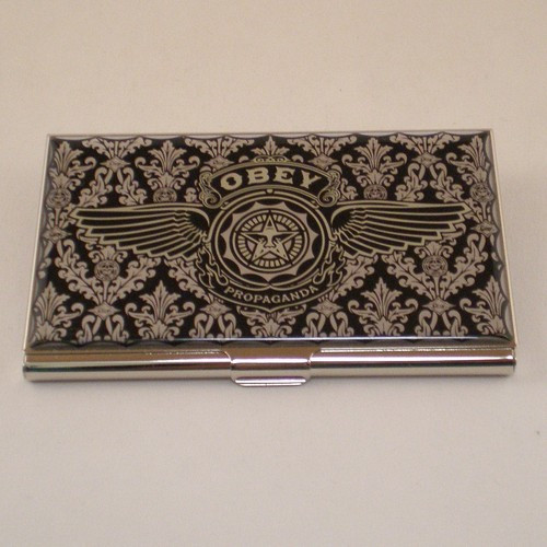 """Obey"" Card Case"
