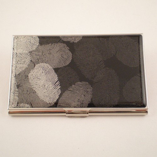 """Fingerprints"" Card Case"
