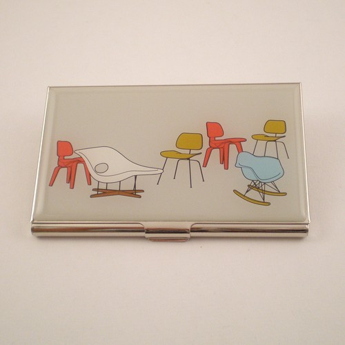 """""""Eames Chairs"""" Card Case"""