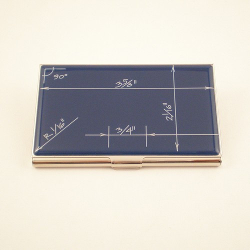 """Blueprint"" Card Case"