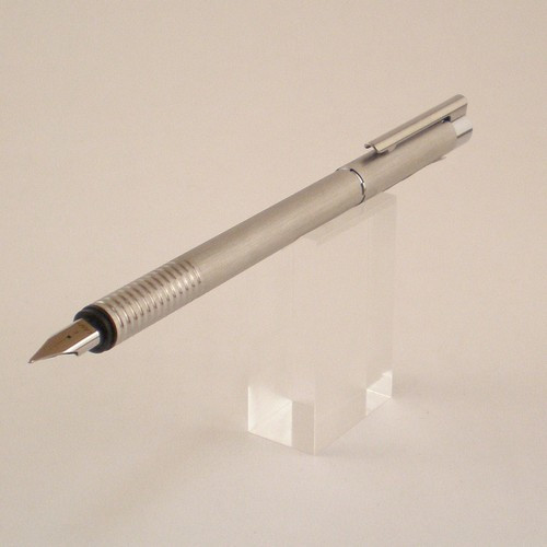 Logo Brushed Fountain Pen