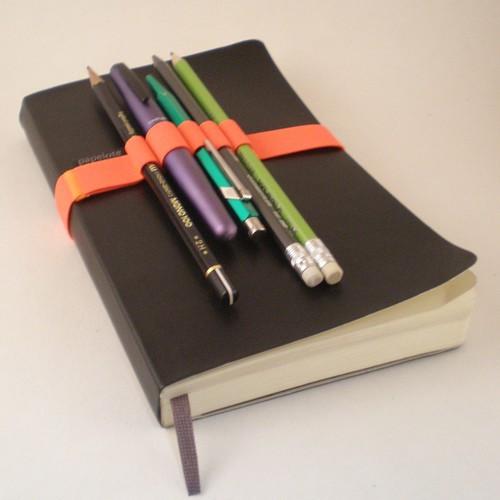 A5 Notebook Pen Strap