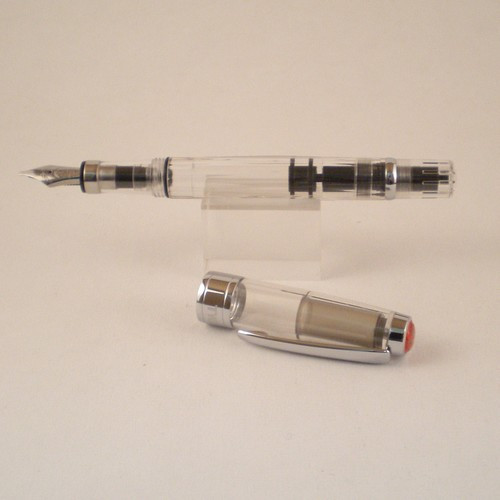 Diamond 580 Clear Stub Fountain Pen