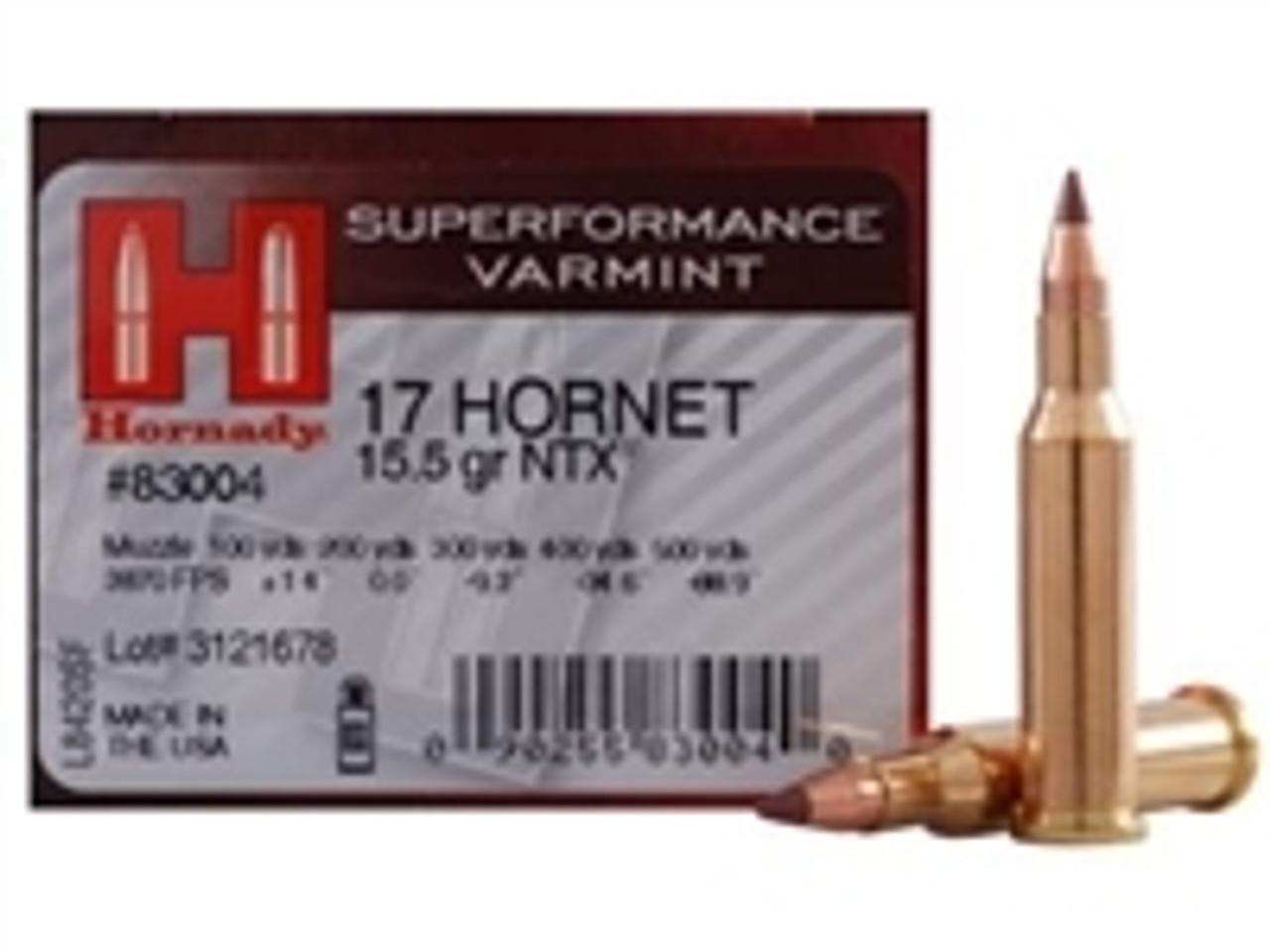 17 Hornet Ammo