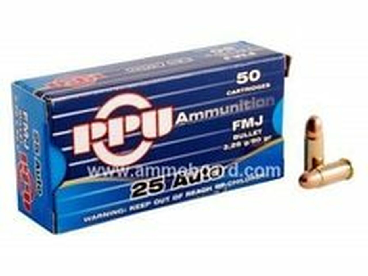 25 ACP Ammo