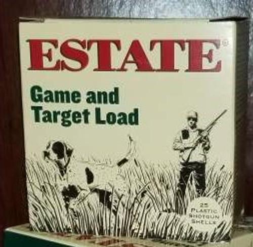 """Estate 12 Gauge Ammunition Promo Game & Target GTL1275 2-3/4"""" 7.5 Shot 1oz 1290fps Case of 250 Rounds"""