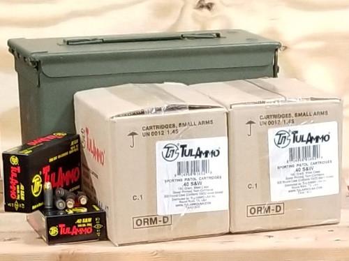 tula 40 s w ammunition ta401800can 180 grain full metal jacket