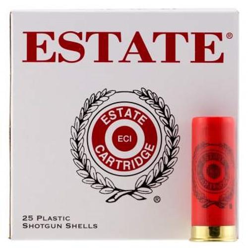 """Estate 12 Gauge Ammunition SS12H8CASE 2-3/4"""" 1-1/8oz #8 shot 1200 fps CASE 250 rounds"""