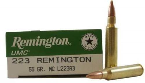 Remington 223 Rem L223R3CASE 55 gr FMJ 200 rounds