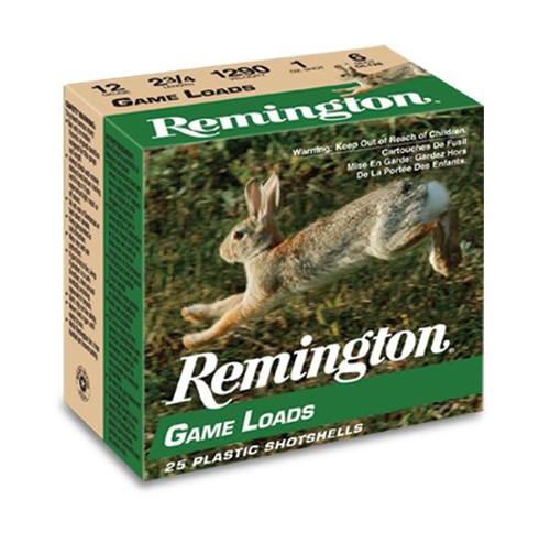 "Remington 410 Bore Ammunition GL4106 Game Loads 2-1/2"" #6 Shot 1/2oz 1200fps Case of 200 Rounds"