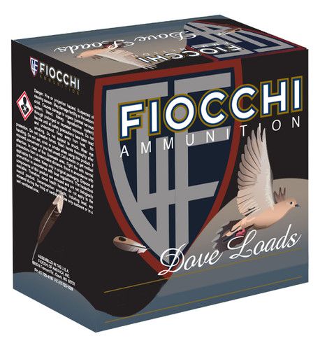 "Fiocchi 410 Bore Ammunition Game & Target FI410GT8CASE 2.5"" 1/2 oz 8 Shot 1200 fps CASE 250 Rounds"