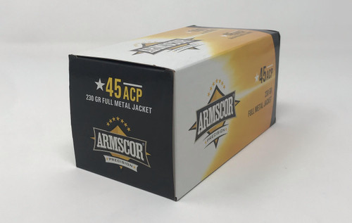 Armscor 45 Auto 50443 Value Pack 230 Grain Full Metal Jacket Case 1200 Rounds