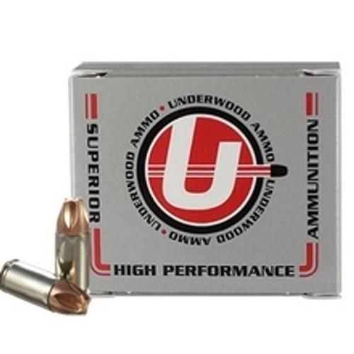 Underwood 9mm Luger +P Ammunition UW816 90 Grain Xtreme Defender CASE 200 Rounds