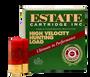 """Estate 12 Gauge Ammunition High Velocity Hunting Loads HV124 2-3/4"""" #4 Shot 1-1/4oz 1330fps Case of 250 Rounds"""