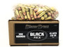 CCI Blazer Brass 45 Auto Ammunition Black Pack 5230BF300 230 Grain Full Metal Jacket 300 Rounds