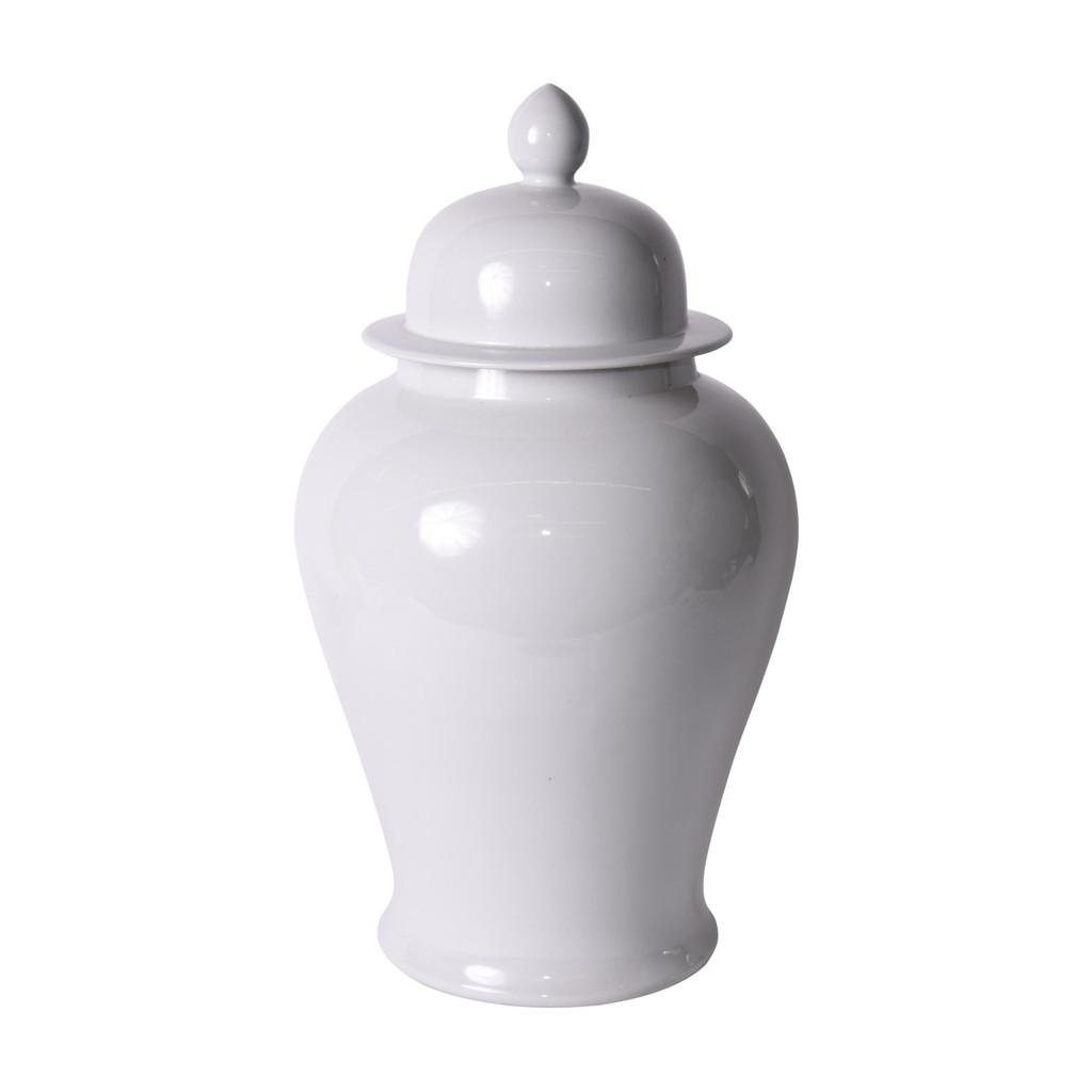 White Temple Jar - XL