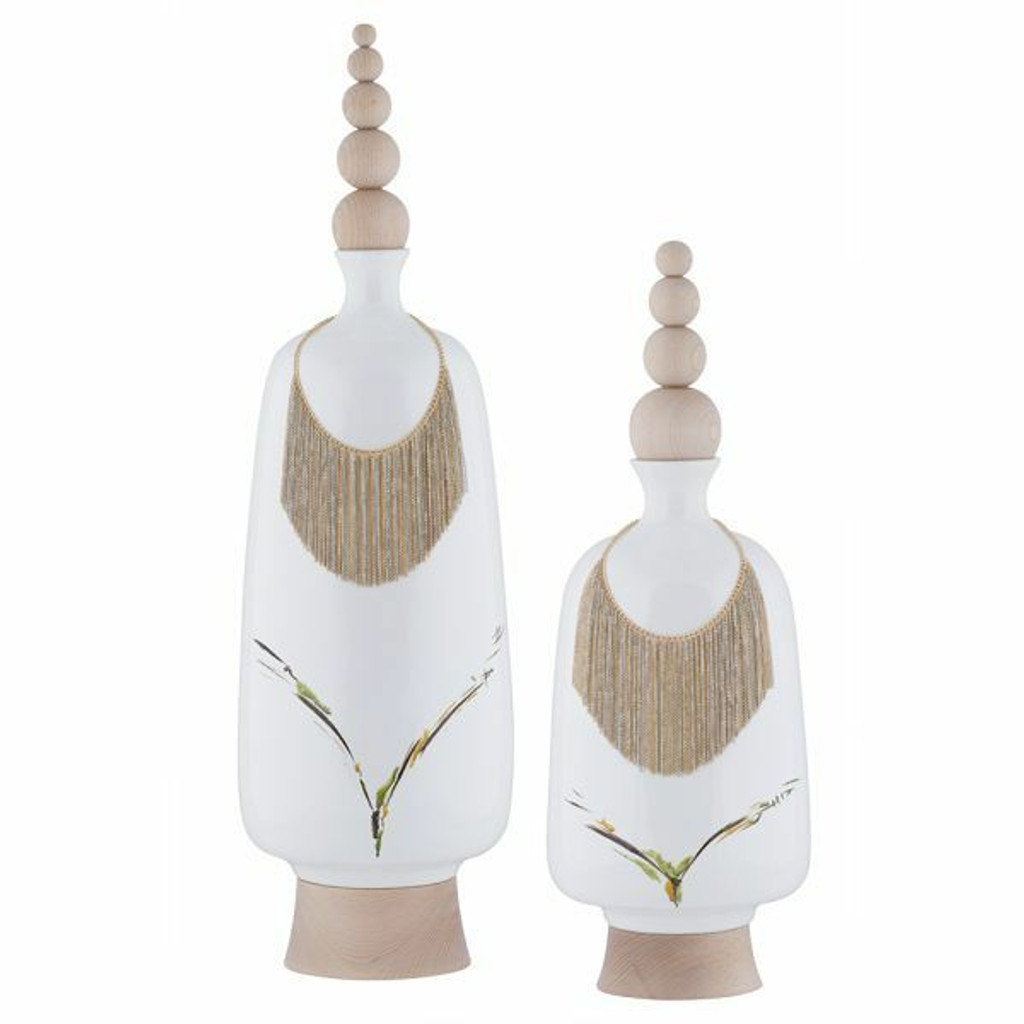 Vase w/Necklace Burgess M