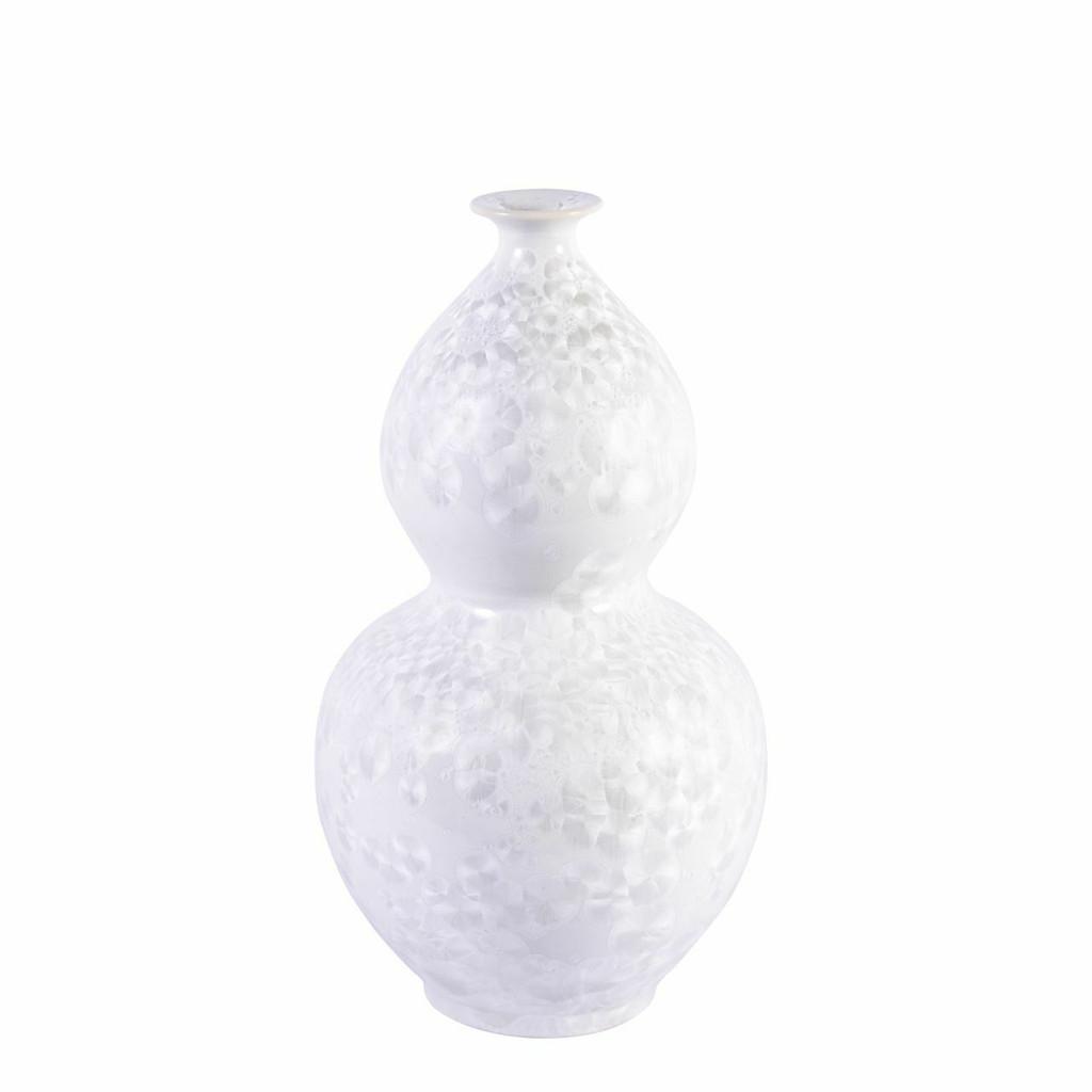Crystal Shell Gourd Vase - S