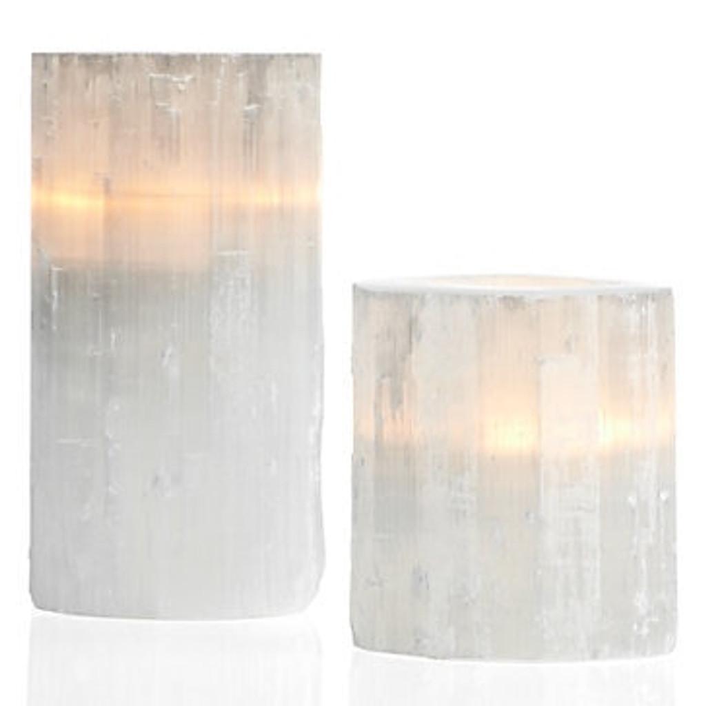 Selenite Candle Holder - 3 Sizes